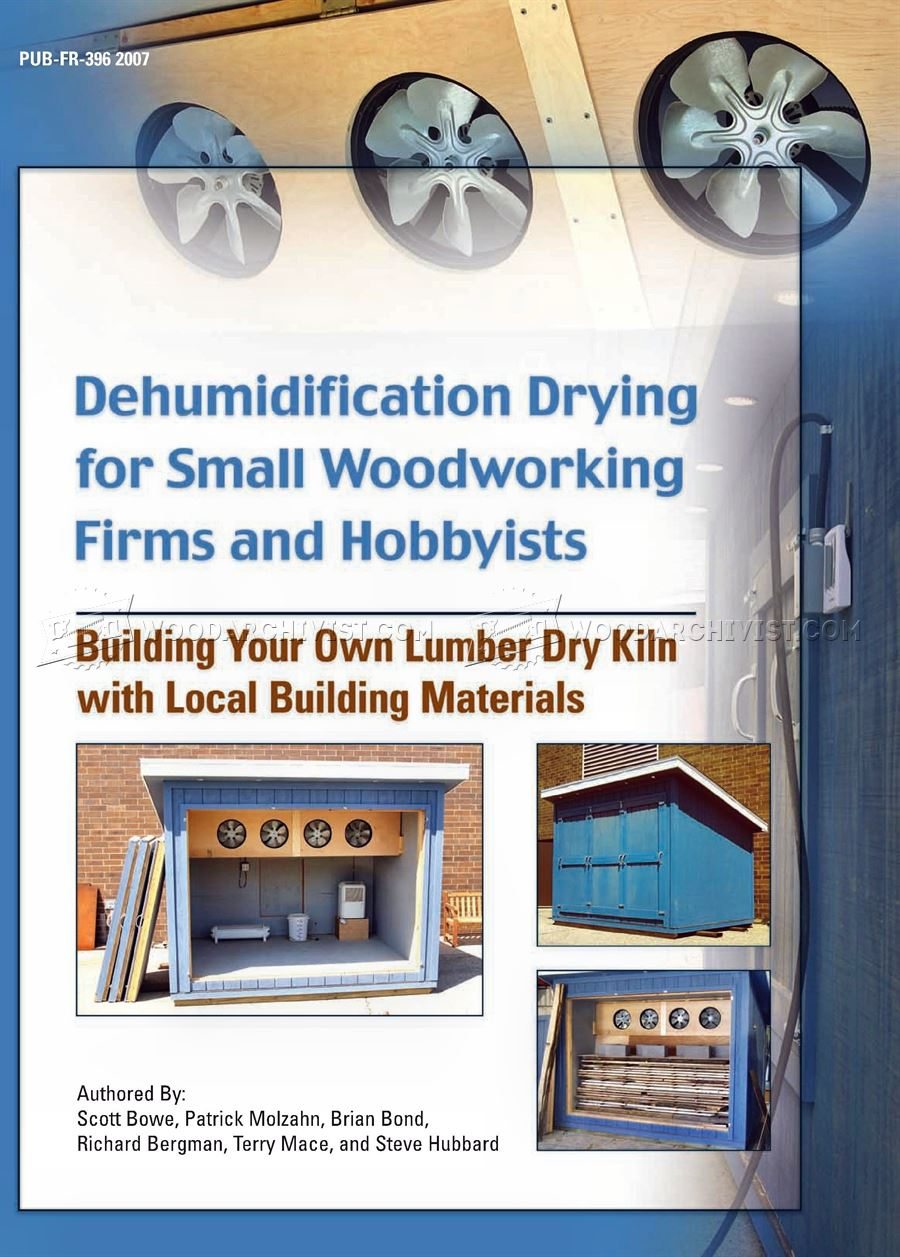 Building Your Own Lumber Dry Kiln