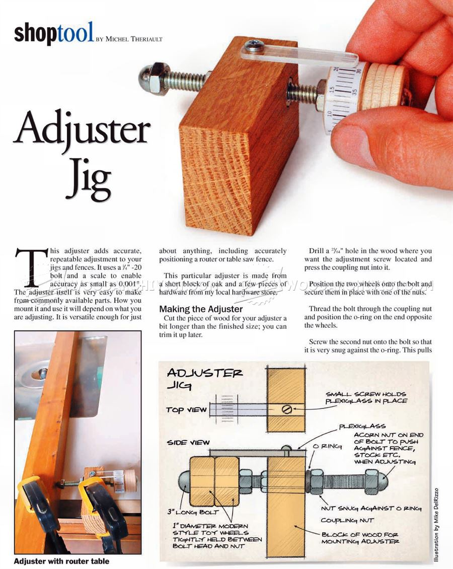 Micro Adjuster Jig