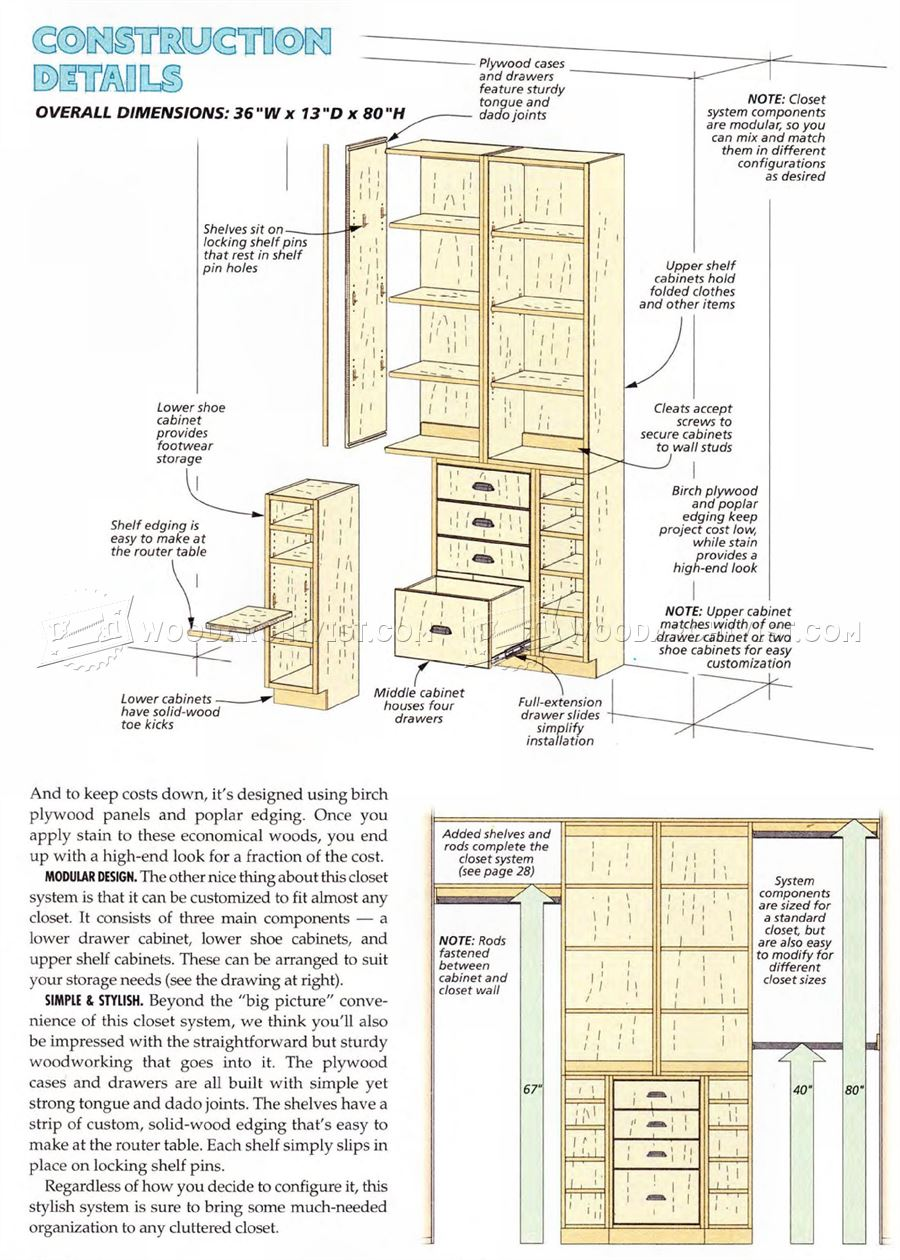 How do you build a closet organizer roselawnlutheran for Custom blueprints