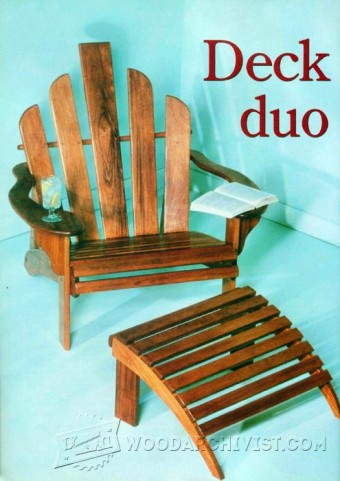 445-deck-chair-plans