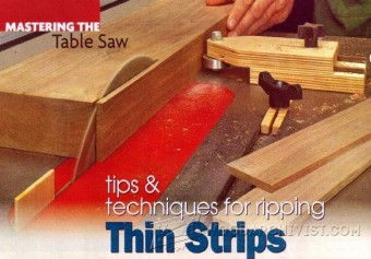 476-Table Saw Thin Rip Jig