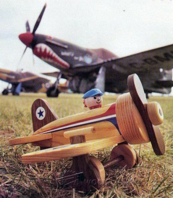 495-Wooden Airplane Plans