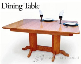 505-Dining Table Plans