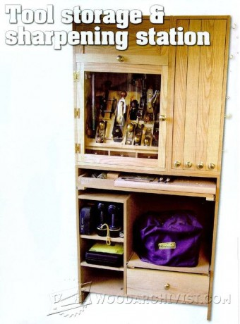 512-Tool Storage and Sharpening Station Plans