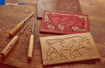 518-Line Carving - Three Simple Styles
