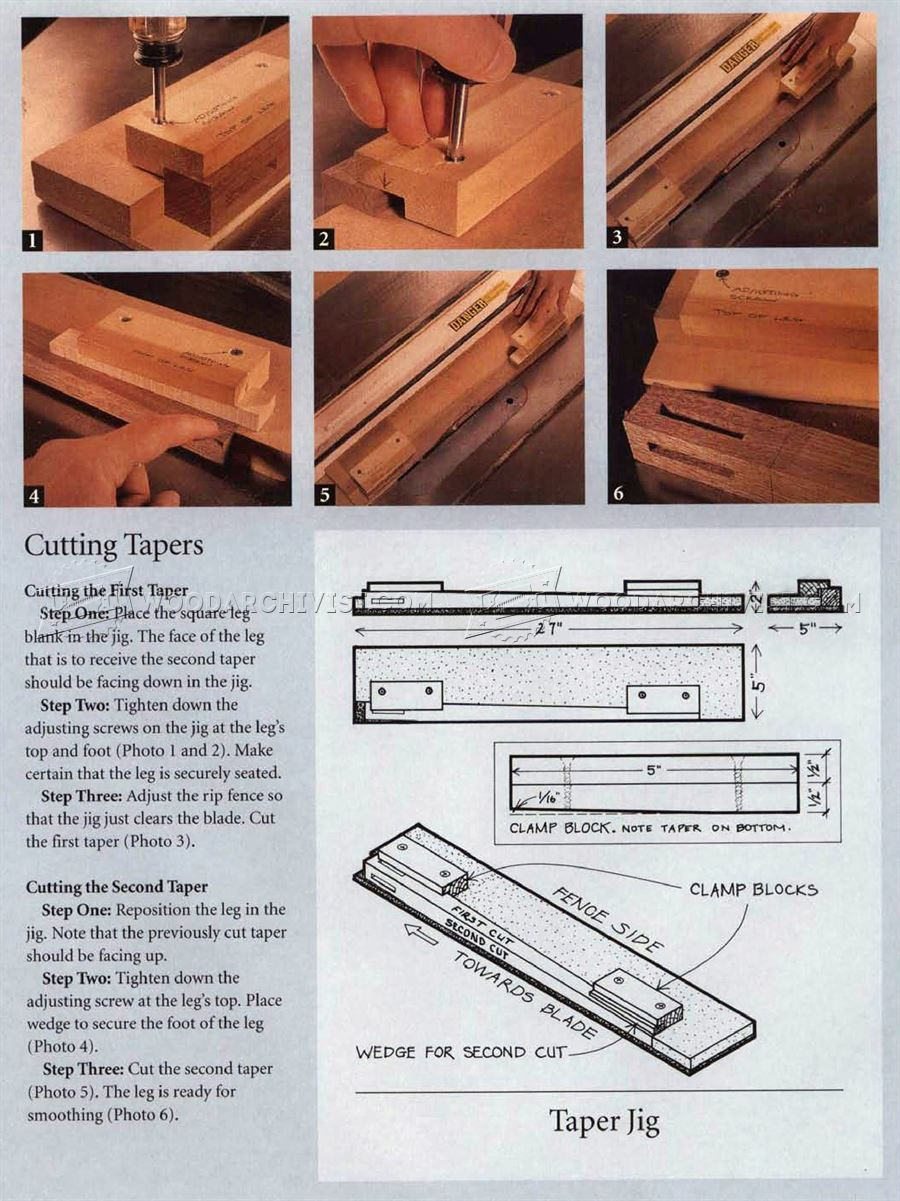 Simple Side Table Plans