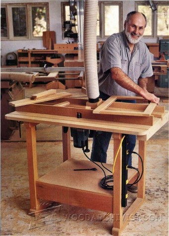 528-Ultimate Router Table  Plans
