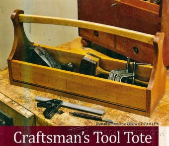 533-Tool Tote Plans