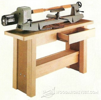 534-Lathe Stand Plans
