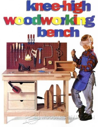 549-Kids Workbench Plans