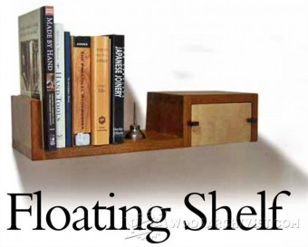 551-Floating Shelf Plans