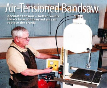 552-Air-Tensioned Band Saw