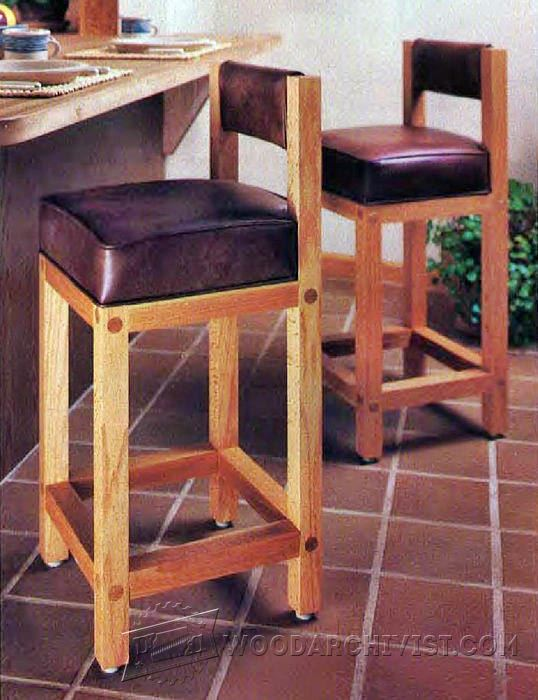 Bar Stool Woodworking Plans Popular Yellow Bar Stool