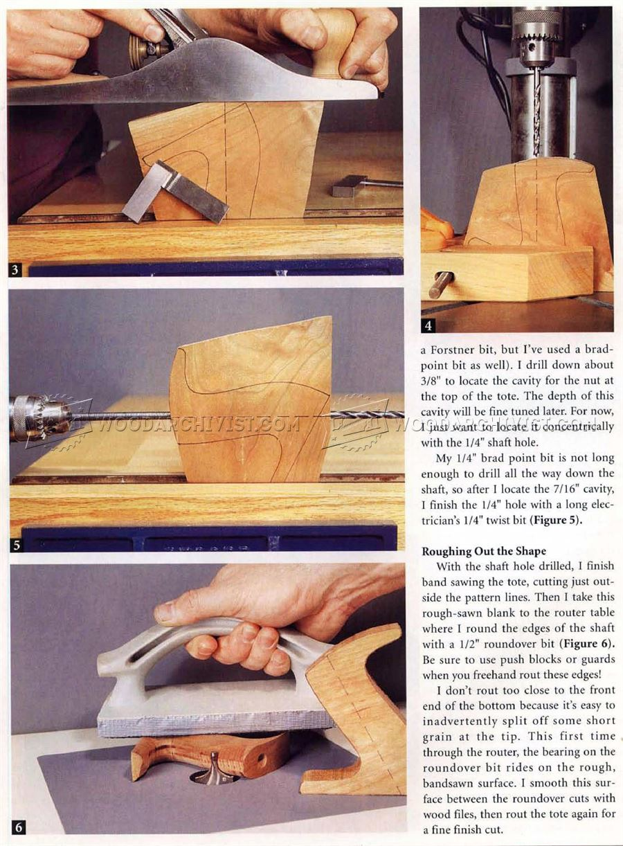 #558 Replacing a Hand Plane Tote