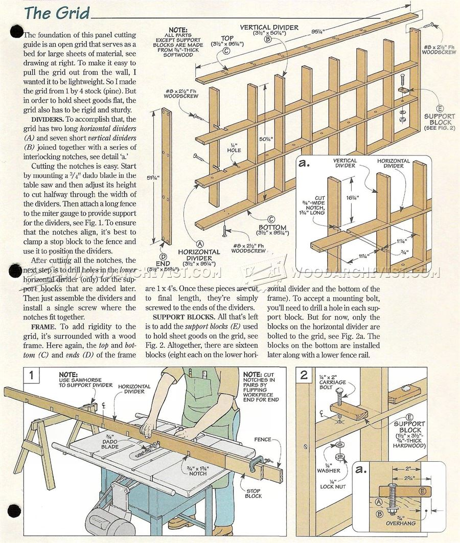 how to use vertical panel saw