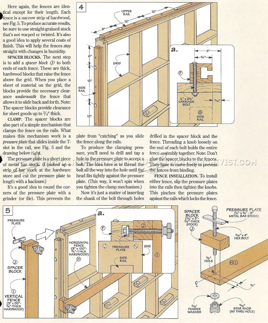 Vertical Panel Saw Plans Woodarchivist