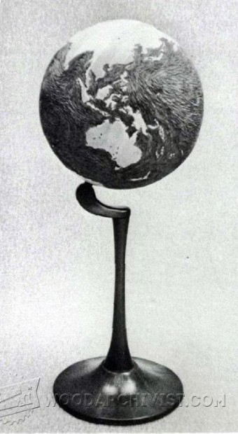 580-Wooden World Globe Plans