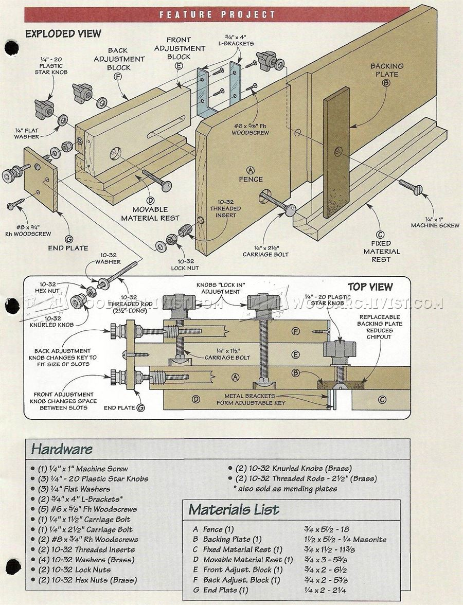 584 Box Joint Jig Plans • WoodArchivist