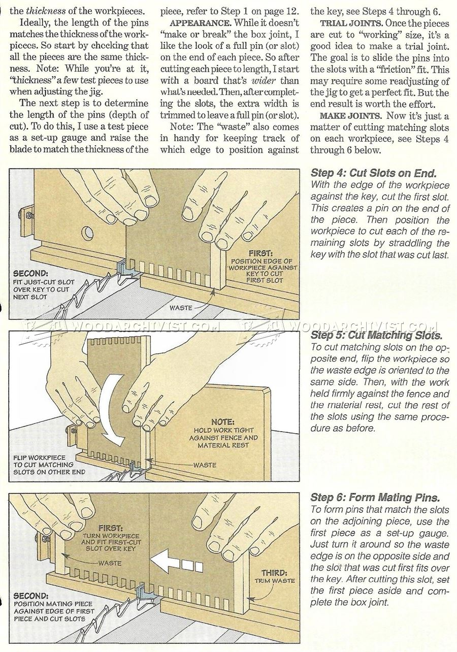 making wood joints with a router | Friendly Woodworking ...