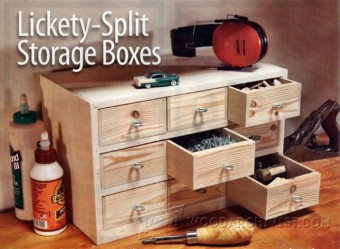 586-Small Storage Boxes Plans
