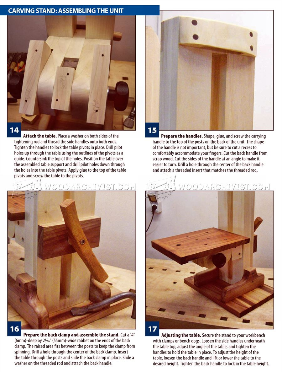 Build Your Own Carving Stand