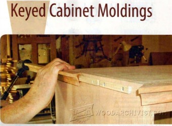 609-Keyed Cabinet Moldings