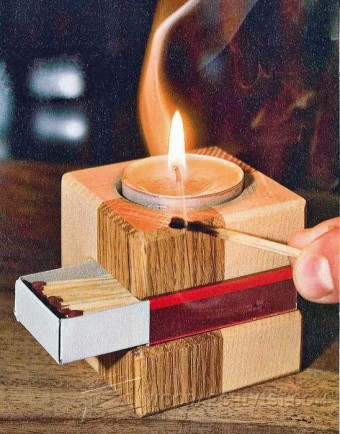 614-Making Simple Wooden Candlestick