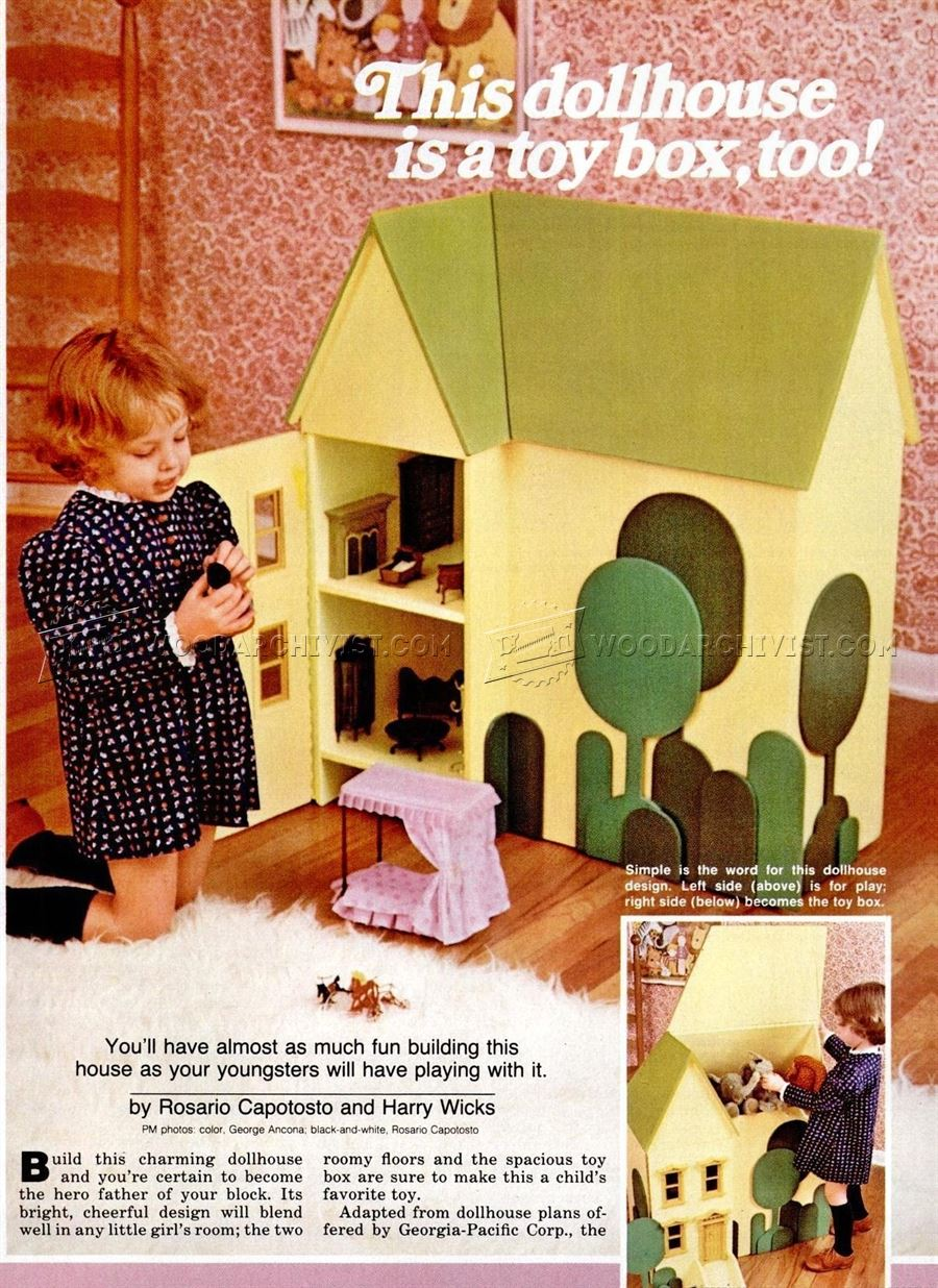wooden doll house plans - Wooden Dollhouses Designs