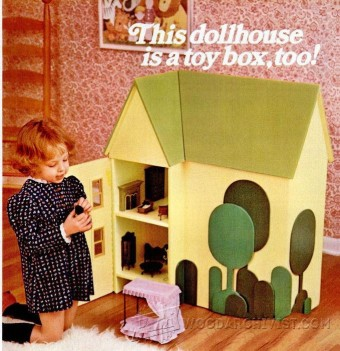 618-Wooden Doll House Plans
