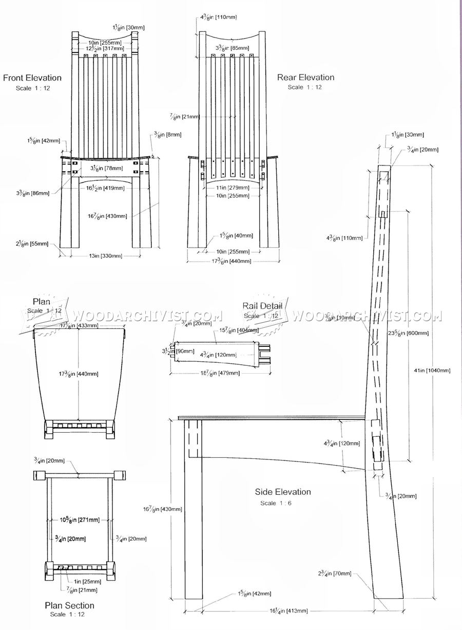 Morris chair plans -  Arts And Crafts Chair Plans