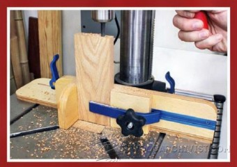 627-Dual Stop Vertical Drilling Jig
