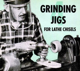 628-Lathe Chisel Grinding Jig