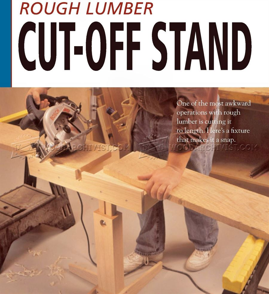 Circular Saw Cut Off Stand Plan