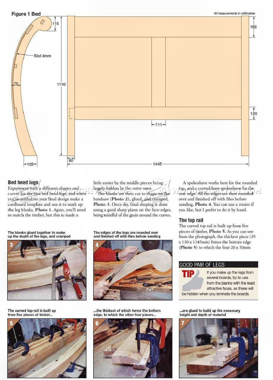 Cherry Bed Plans