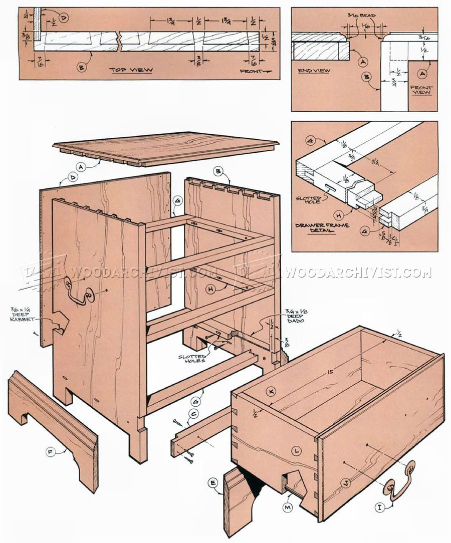 Small Chest Plans