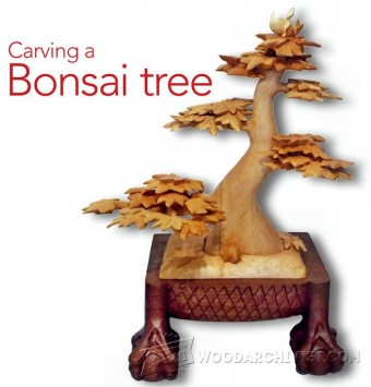 652-Bonsai Carving - Wood Carving Patterns