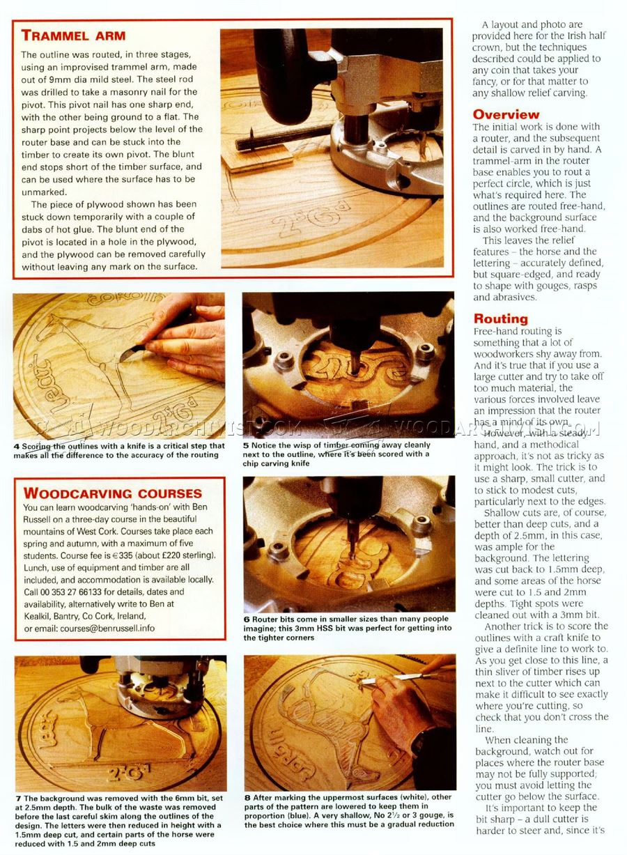 Relief Coins - Relief Carving Patterns