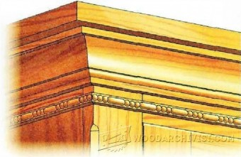 658-Carving Decorative Molding