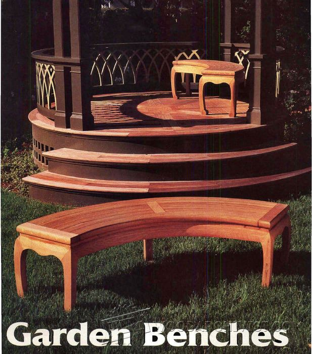 Asian Garden Bench Plans Woodarchivist