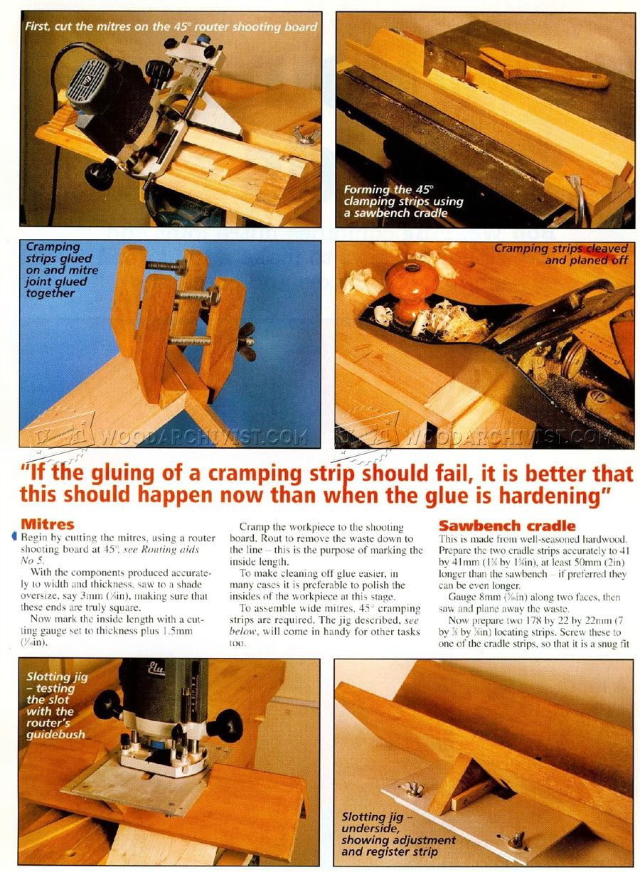 Dovetail Key Miter Joint