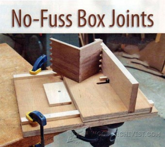 677-Finger Joint Jig Plans