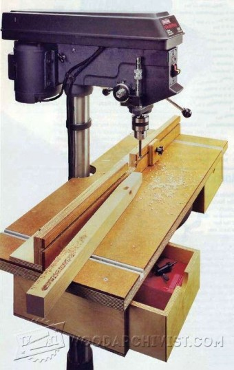 678-Drill Press Table Plan