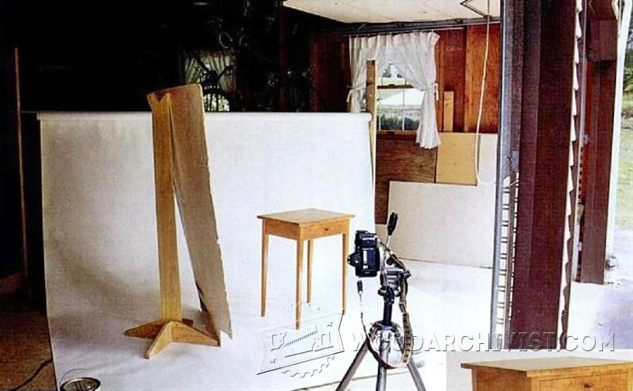 Photographing Furniture Tips And Techniques Woodarchivist