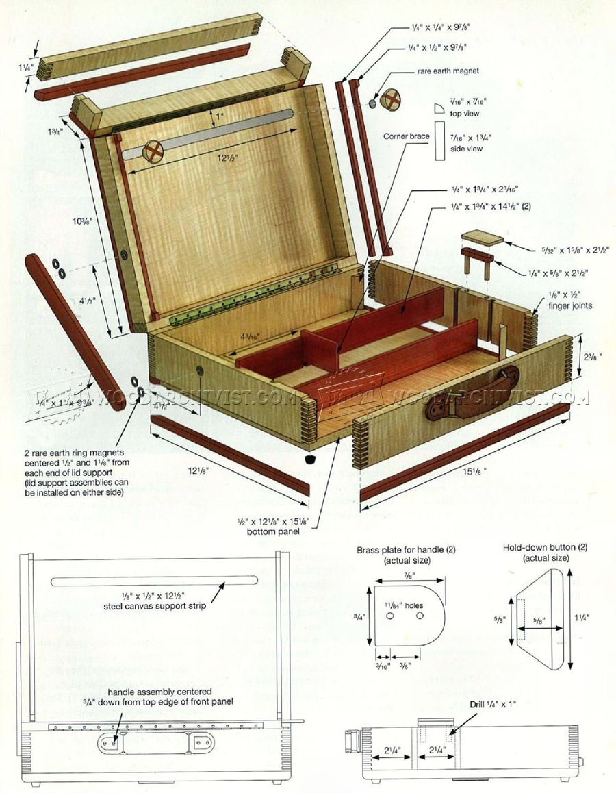 Painting Box Plans