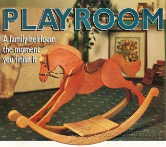689-Rocking Horse Plans