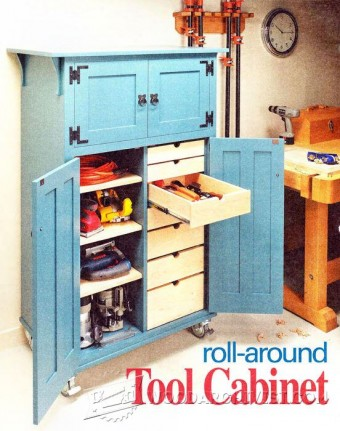 696-Roll-Around Tool Cabinet