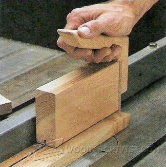699-Table Saw Push Block Plans