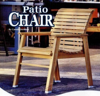 701-Patio Chair Plans
