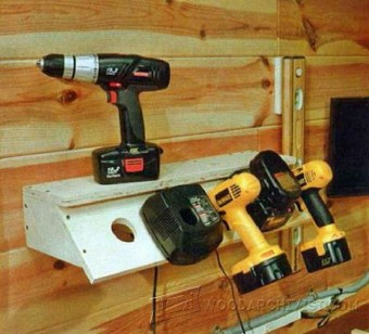 709-Cordless Drill Charging Station Plans