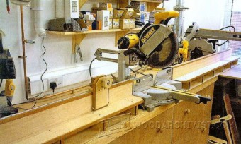 712-Miter Saw Table  Plans